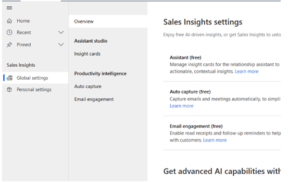 Sales-insight-Setup-Microsoft-Dynamics-365-2020-update. KAIZEN DYNAMICS PARTNERS INC